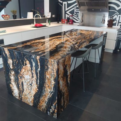 Mobilier de cuisine en granit